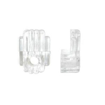 OOK 1/4 in. 20 lb. Fancy Mirror Clips (4-Pack)