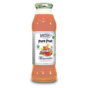 Lakewood Organic Juice Blend, Pure Fruit Watermelon Lemonade, 12.5 Ounce (Pack of 12)