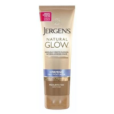Jergens Natural Glow Firming Daily Moisturizer, Medium to Tan Skin Tone 7.5 fl oz (221 ml)package of 2