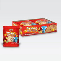 Xel-ha,llc Grace Animal Crackers Original 1 oz (6 Cookies) - Galletas de Animales (Pack of 5)