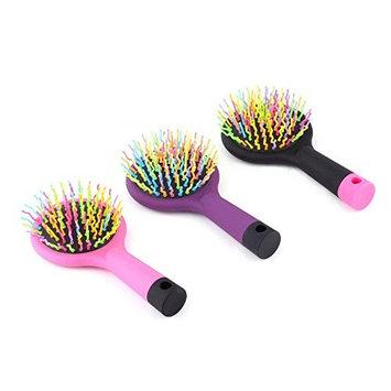 Rainbow Volume Tangle Detangling Hair Brush Multi Color Magic Detangler Hair Styling Tool Hair Brush Comb