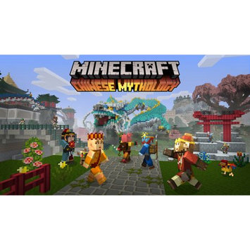 Nintendo Minecraft Chin Myth Mash Pack DLC SWITCH(Email Delivery)