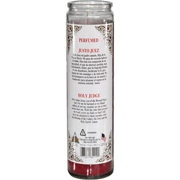 Justo Juez Scented Novena Candle