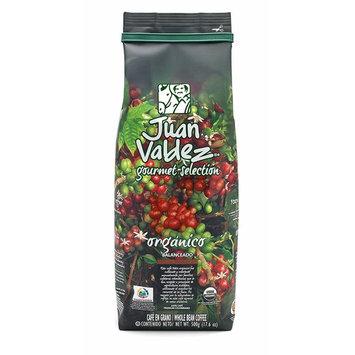 JUAN VALDEZ Organic Colombian Fairtrade Coffee | Café Colombiano Organico 17.6oz [Whole Bean]