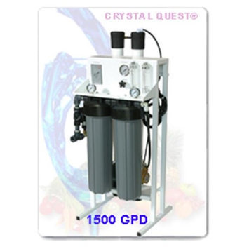 Crystal Quest CQE-CO-02026 Commercial Reverse Osmosis 1500 GPD Water Filter System