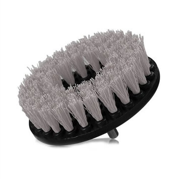 Chemical Guys ACC_201_Brush_S Gray Carpet Brush with Drill Attachment (Light Duty), 1 Pack