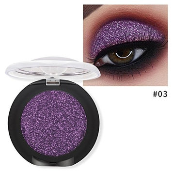 Laimeng_world 20 Colors Pearl Metallic Eyeshadow Palette Diamond Trimmer Eye Shadow Powder Makeup