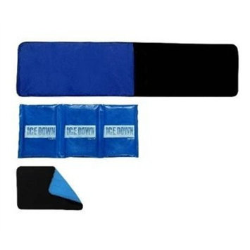 XLarge Cold Therapy Wrap with Extender and Cold Pack-BACK