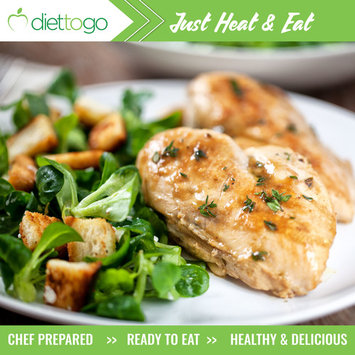 Diet-to-Go Fully Prepared Meals, 5 Lunch and 5 Dinners (10 Complete Meals)