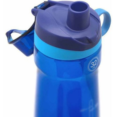 Leapfrog Pogo BPA-Free Plastic Water Bottle with Chug Lid, 32 oz