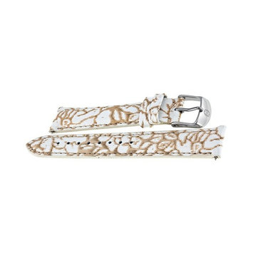 Michele Floral Fashion Patent 18 mm Watch Band Strap MS18AA350976