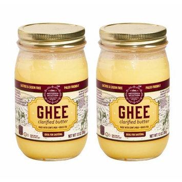Grass Fed Ghee Clarified Butter | Lidl Preferred Selection | 13 Ounce 2 Pack | Non-GMO Lactose Casein rBST Free | Paleo Keto Friendly | Great For Sauté Or Spread | Butter Coconut Olive Oil Alternative