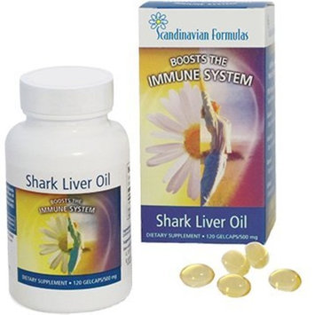 Shark Liver Oil 500 mg 120 gel caps - Pack of 2