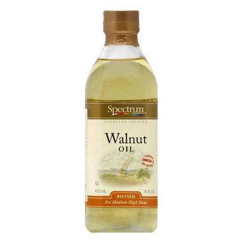 Spectrum Oil Walnut Refined, 16 OZ (Pack of 6)