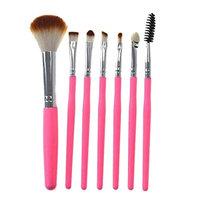 Aviat 7 Pcs Silicone Makeup Brush EyeShadow Brush Set Tools Beauty Professional Toiletry Kit Makeup Brushes Defined Tools