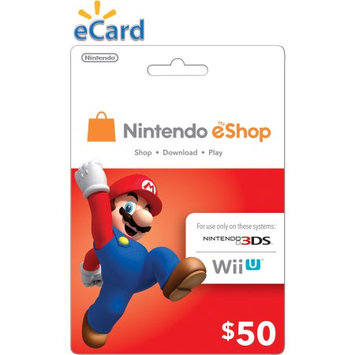 Incomm Nintendo eShop $50 (email delivery)