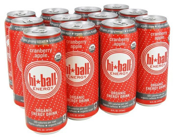 Hi Ball - Organic Energy Drink Cranberry Apple - 16 oz.
