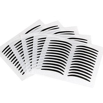 5Sheet(120pcs) Black Thin Instant Double Eyelid Sticker Tape Eyeshadow Eyeline Adhesive Invisible Double Eyelid Tape Beauty Makeup Tools