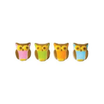 Owl Assortment Dec-on, #45813-12 ct