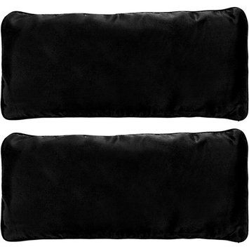 2 Pack Yoga Eye Pillow - Lavender and Flax Seed Aromatherapy Eye Mask for Meditation and Stress Relief by LISH