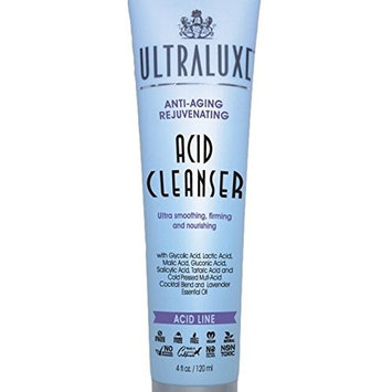 Ultraluxe Anti-Aging Rejuvenating Acid Cleanser,4 fl.oz