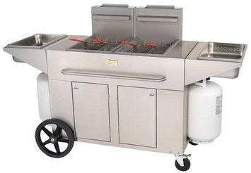 Crown Verity PF-2 Portable Outdoor Double Fryer