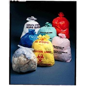 Medegen Medical MAI 47-03 23 x 8 x 41 in. Infectious Linen Bag Red - 250 per Case