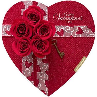 Elmer Chocolate Valentine Heart Chocolates, 8 oz