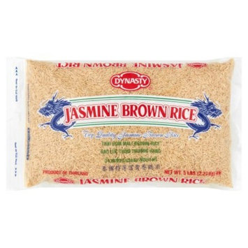 Dynasty (Jasmine Brown Rice, 5 lb, Pack Of 1)