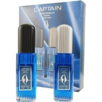 CAPTAIN by Molyneux EDT SPRAY 2.5 OZ & AFTERSHAVE SPRAY 2.5 OZ CAPTAIN by Molyneux EDT SPRAY 2.5 OZ