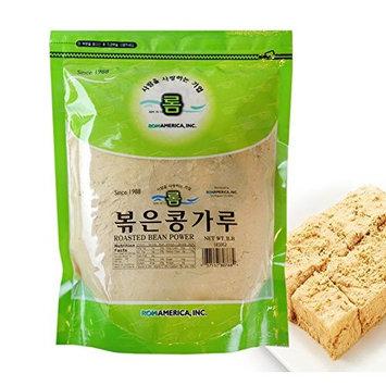 ROM AMERICA [ 1 Pound ] Roasted Bean Powder Flour Injeolmi 볶은콩가루 인절미