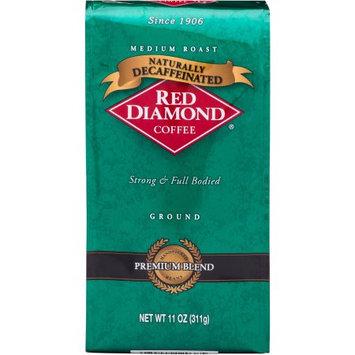 Red Diamond Coffee Naturally Decaffeinated Medium Roast Ground Coffee, 11 oz