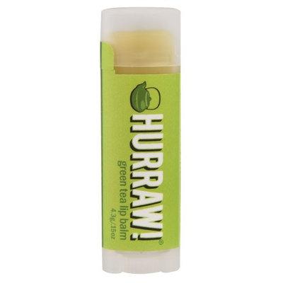 Hurraw! Balm Lip Balm Green Tea - 0.15 oz (pack of 6)