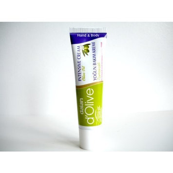 3x d'Olive Intensive Care Hand & Body Cream 20ml Travel Size by d'Olive
