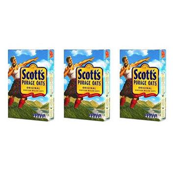 Scotts Porridge Oats - 1.1 lbs (500gm) Pack of 3