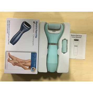 Electric Foot File:Professional Wet & Dry Callus Remover Pedicure Tool for Dry Heels & Feet. Exfoliate Your Feet and Smooth Away Dead Hard Cracked Skin in Seconds to get Beautiful Baby Feet.