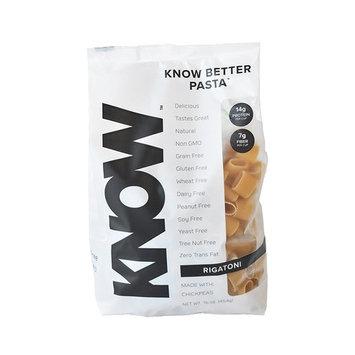 KNOW Foods Better Pasta Rigatoni Bag, 1 Pound