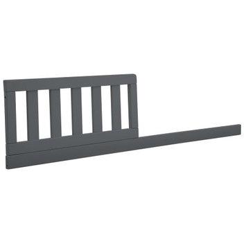 Delta Children Daybed/Toddler Guardrail Kit #555725, Charcoal Grey