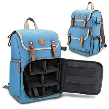 GOgroove Bags and Cases Camera Backpack GGBCCBM100BLEW Blue Case