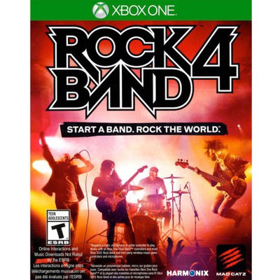 Mad Catz Rock Band 4 Game Only (Xbox One) - Pre-Owned