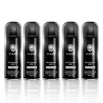 Mane America Hair Thickening Spray with Added Shine (5 Pack)
