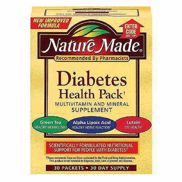 Nature Made Diabetes Multivitamin Supplement