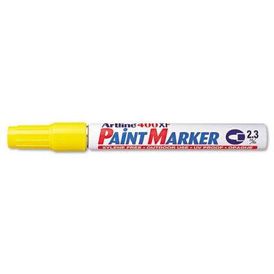 Artline ART47105 Paint Marker, Bullet Tip, 2.3mm, Yellow