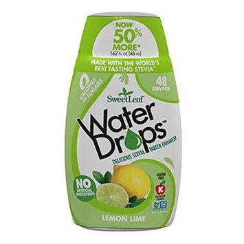 SweetLeaf WaterDrops, Lemon Lime, 1.62 Ounce [Lemon Lime]