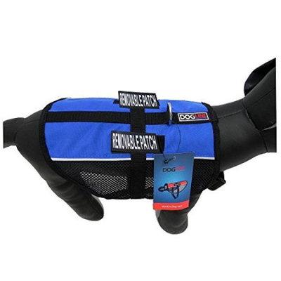 Dogline N0250-2 13-16 inch Max Aire Dog Mesh Vest, Blue