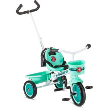Pacific Cycle Schwinn Easy Steer Trike, Teal