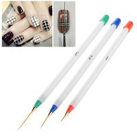 Eforcity Zodaca 3-piece Set Nail Art Acrylic Drawing Painting Pen