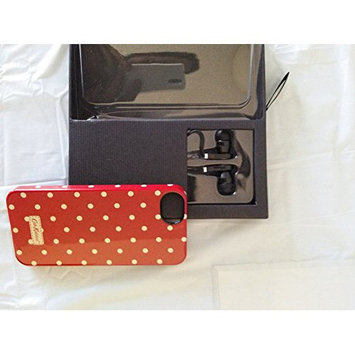Envision Accessories Envision Iphone 5 Hard Case with Ear Buds, Black and Silver Zebra Print / Black Ear Buds