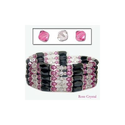 Accents Kingdom Magnetic Hematite Necklace Bracelet Made With Swarovski Crystals r