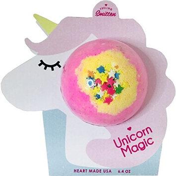 Feeling Smitten Unicorn Magic Bath Bomb,Gifts for Women, Mom, Wife, Daughter, Girlfriend, Birthday, Christmas, Anniversary
